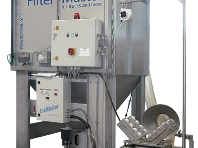 mycon GmbH supplies a filter cleaning system to Istanbul