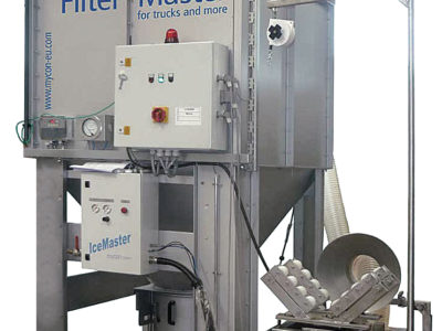 mycon livre un appareil de nettoyage de filtres à Istanbul