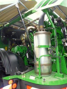 Dieselpartikelfilter AgrarMähdrescher JohnDeere