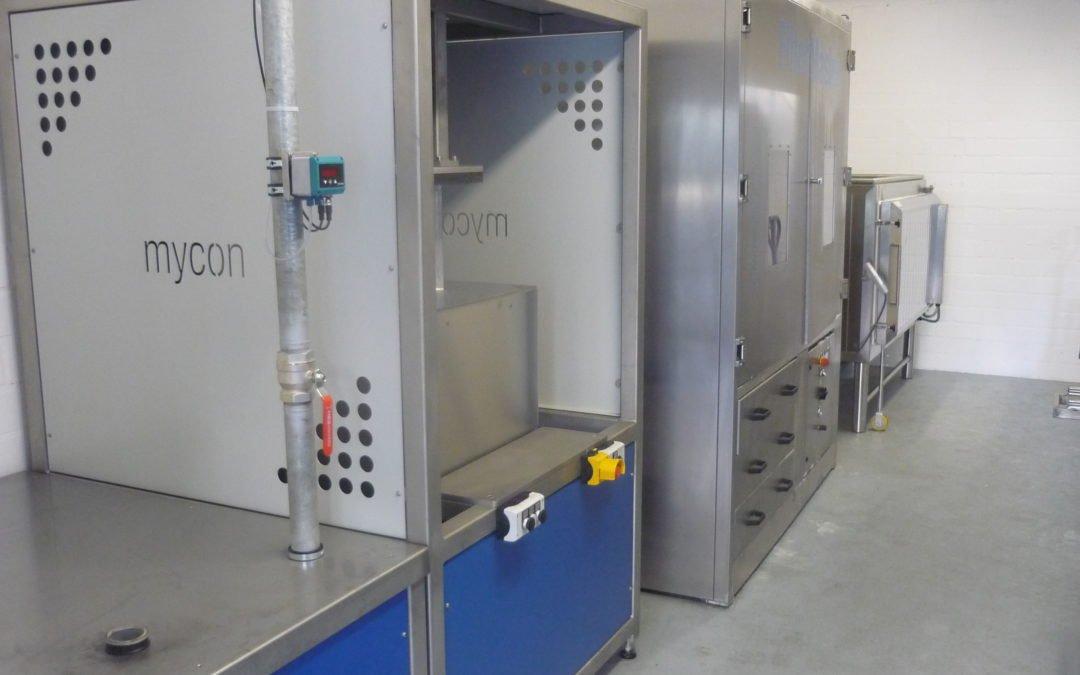 Kipp Umwelttechnik nimmt neue vergrößerte Reinigungsstation für Partikelfilter in Bielefeld in Betrieb