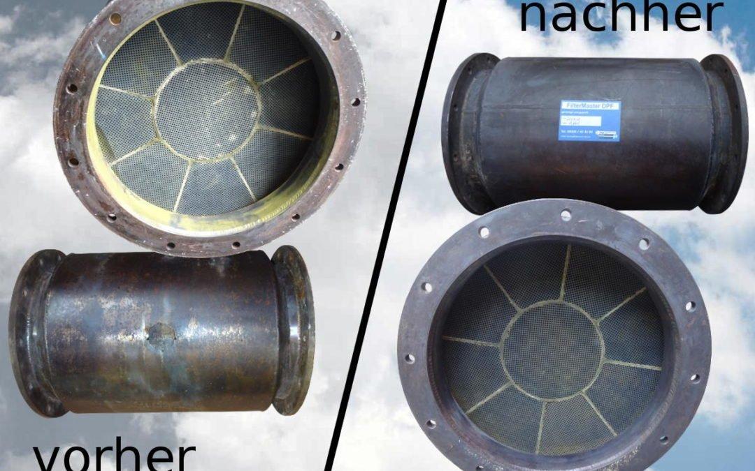 Filter für Schiff erfolgreich gereinigt