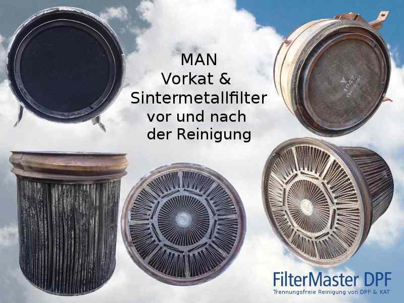 MAN Vorkat & Sintermetallfilter